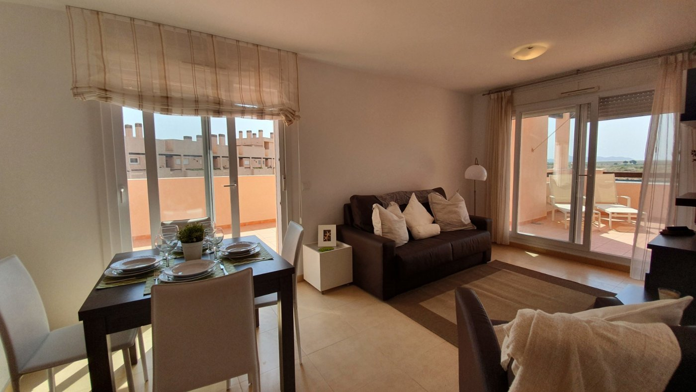 Gallery Image 3 of South Facing Corner Penthouse with Wraparound Terrace and Lake Views at La Isla, Condado de Alhama
