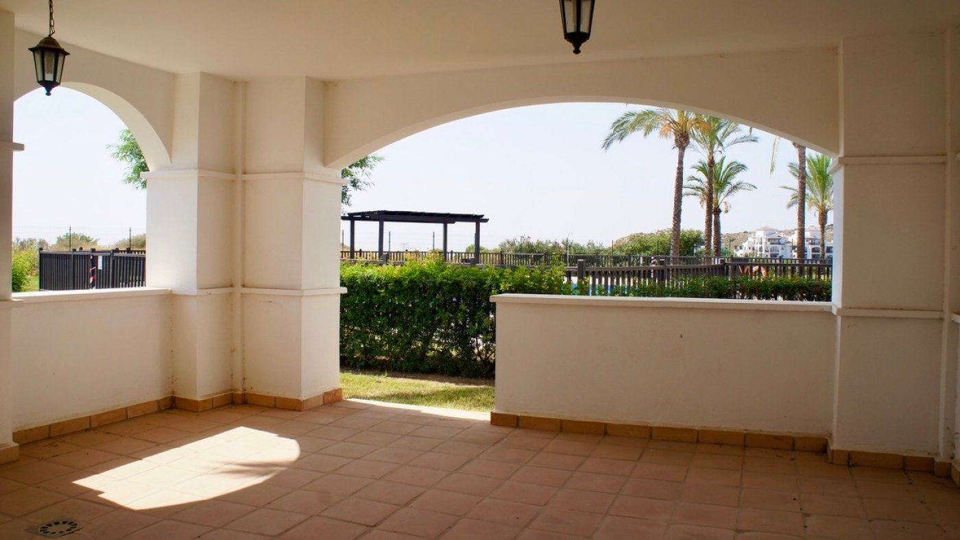 Gallery Image 21 of 2 bed garden apartment with a lot of opportunities, close to pool 40 m2 covered terrace