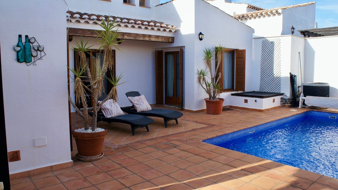 Gallery Image 2 of 4 bed villa with private heated pool on El Valle Golf Resort