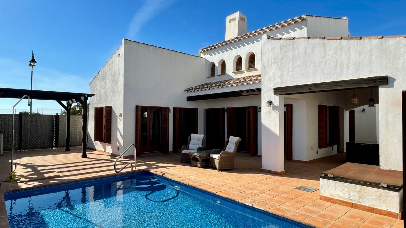 Villa ref 3466 for sale in El Valle Golf Resort Spain - Quality Homes Costa Cálida