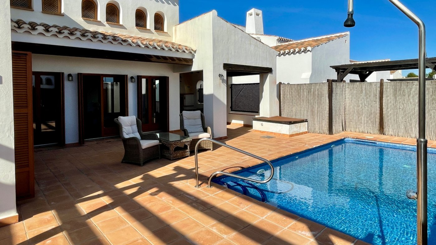 Gallery Image 2 of Nice south facing 3 bed corner villa with private pool on El Valle Golf Resort
