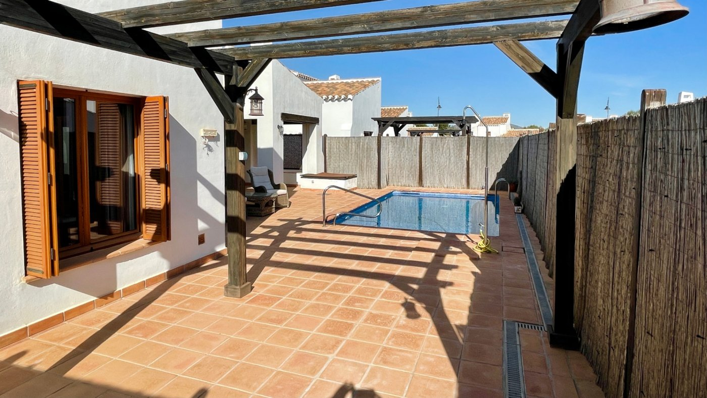 Gallery Image 3 of Nice south facing 3 bed corner villa with private pool on El Valle Golf Resort