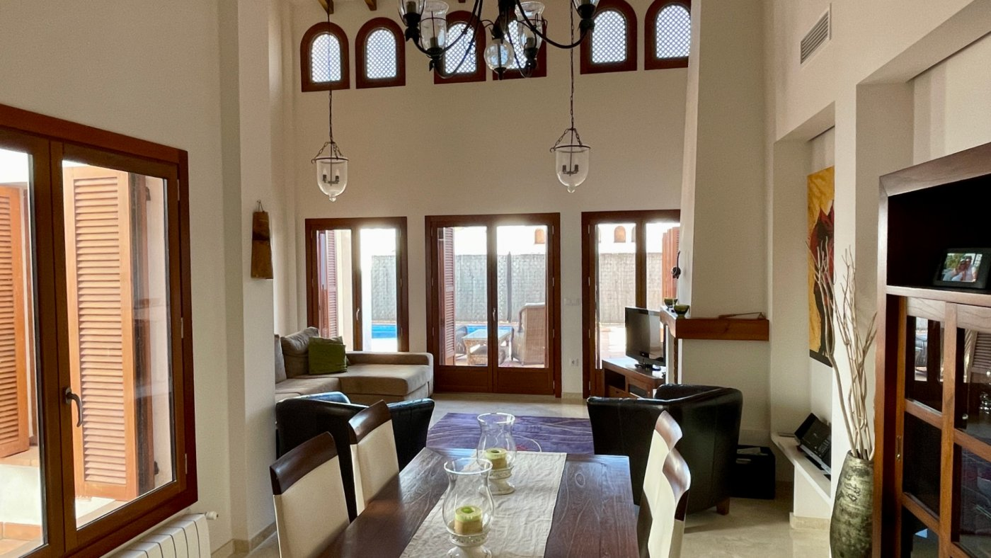 Gallery Image 5 of Nice south facing 3 bed corner villa with private pool on El Valle Golf Resort