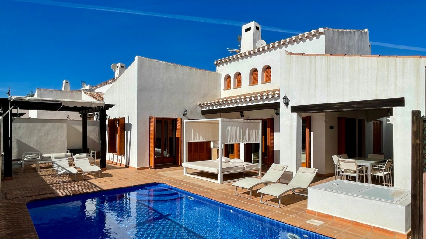 Villa ref 3468 for sale in El Valle Golf Resort Spain - Quality Homes Costa Cálida