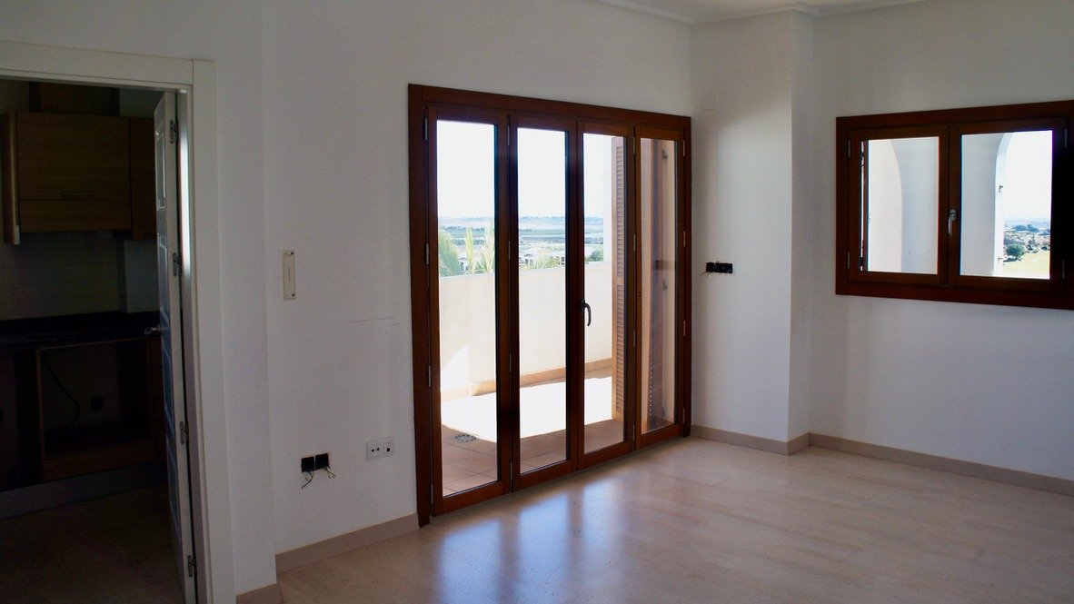 Gallery Image 4 of Fantastic view over El Valle golf course and Mar Menor from 20m2 balcony