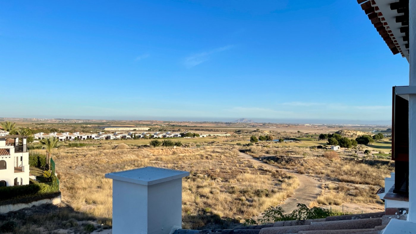 Gallery Image 16 of Fantastic view from large corner terrasse with golf and mountains views on El Valle Golf