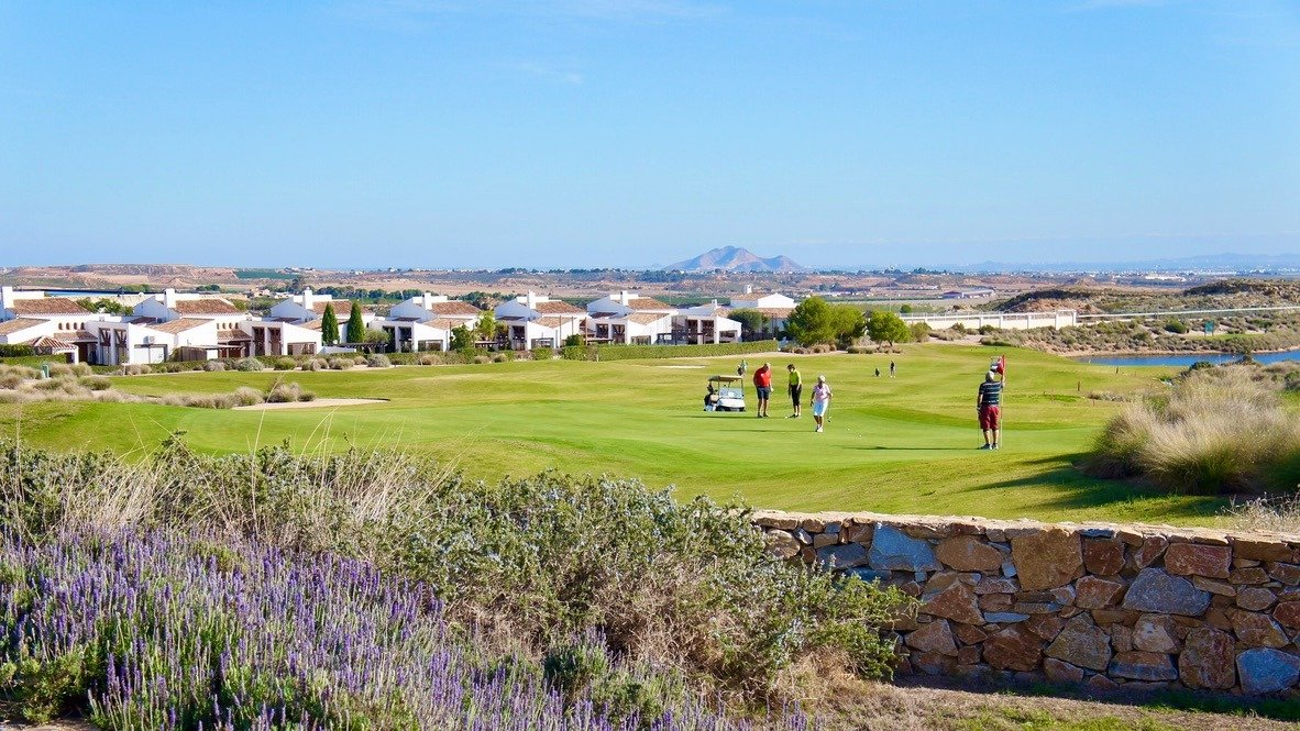 Gallery Image 17 of Fantastic view from large corner terrasse with golf and mountains views on El Valle Golf