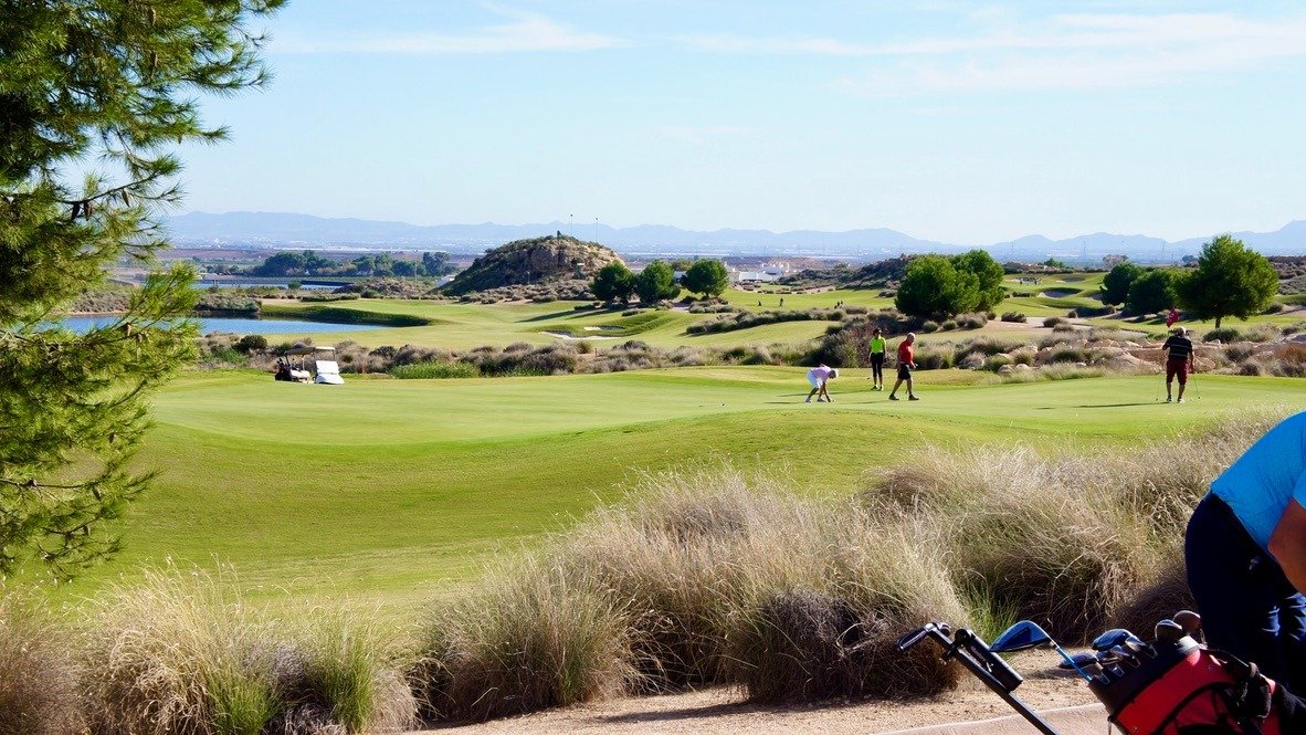 Gallery Image 24 of Fantastic view from large corner terrasse with golf and mountains views on El Valle Golf