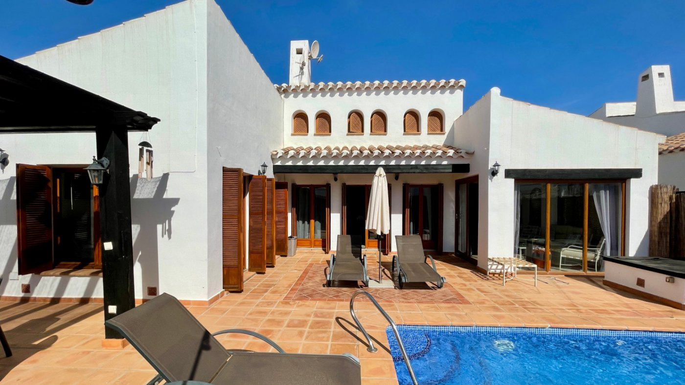 Villa ref 3479 for sale in El Valle Golf Resort Spain - Quality Homes Costa Cálida