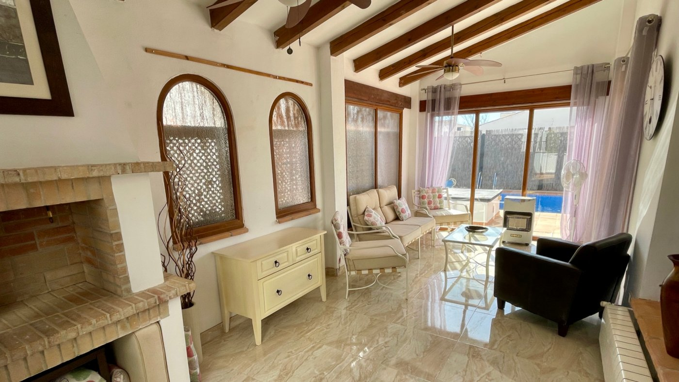 Gallery Image 12 of Nice sunny south facing 3 bed villa with private pool on El Valle Golf Resort