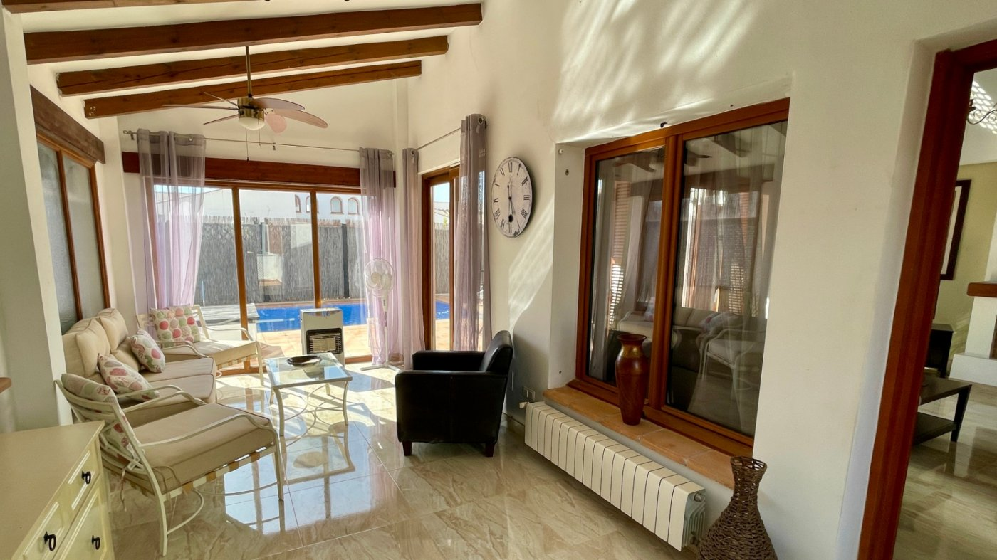 Gallery Image 13 of Nice sunny south facing 3 bed villa with private pool on El Valle Golf Resort