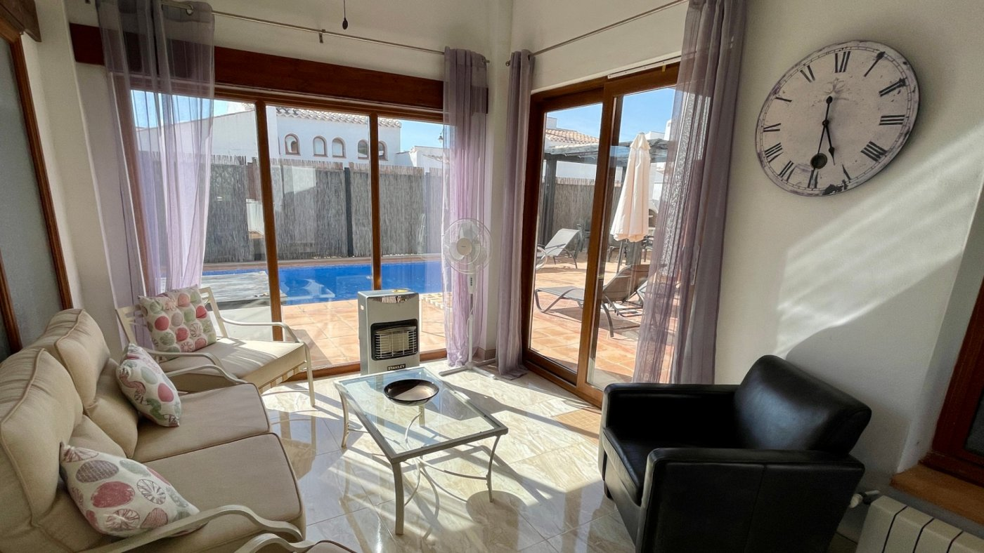 Gallery Image 15 of Nice sunny south facing 3 bed villa with private pool on El Valle Golf Resort