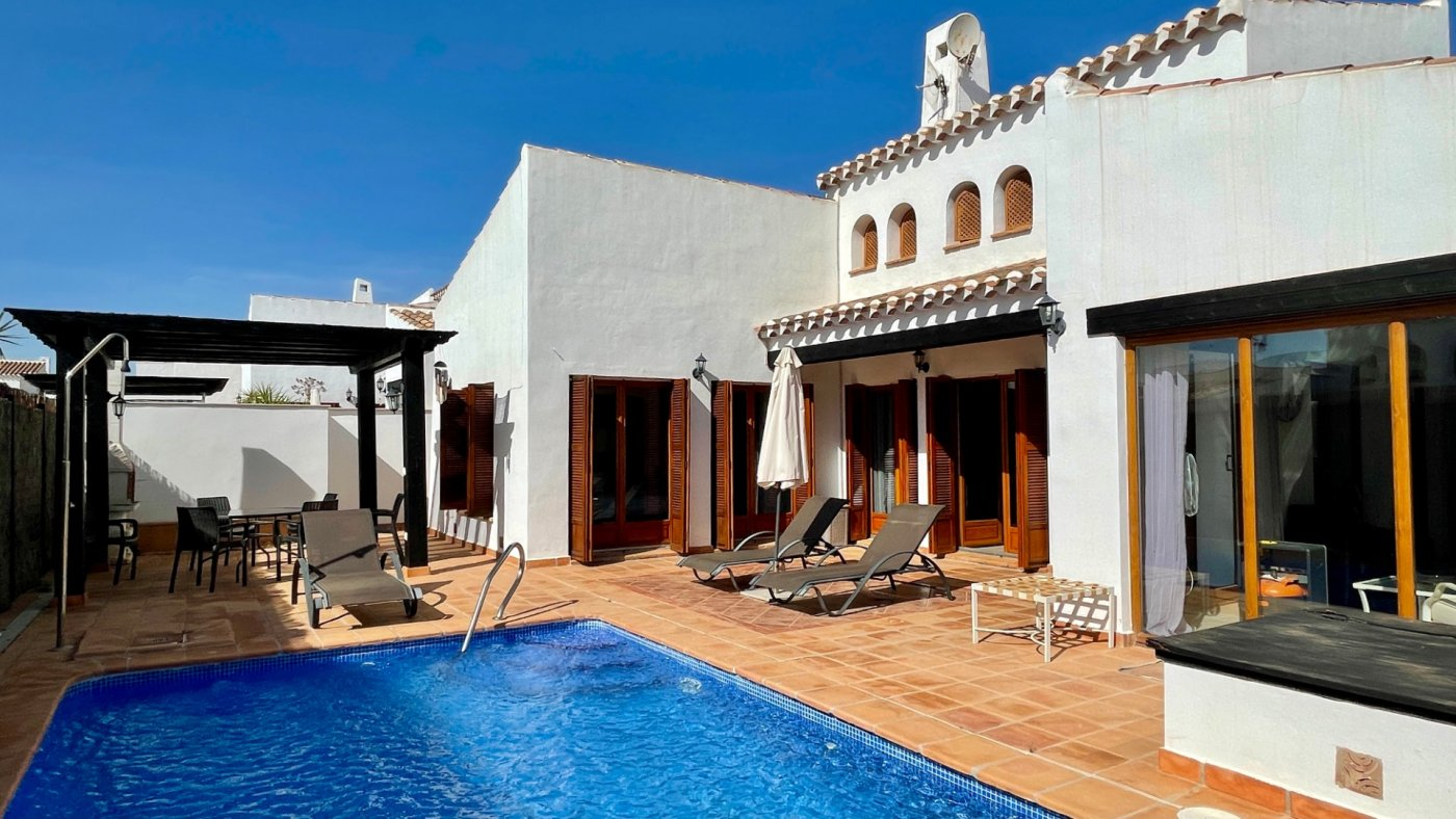 Gallery Image 1 of Nice sunny south facing 3 bed villa with private pool on El Valle Golf Resort