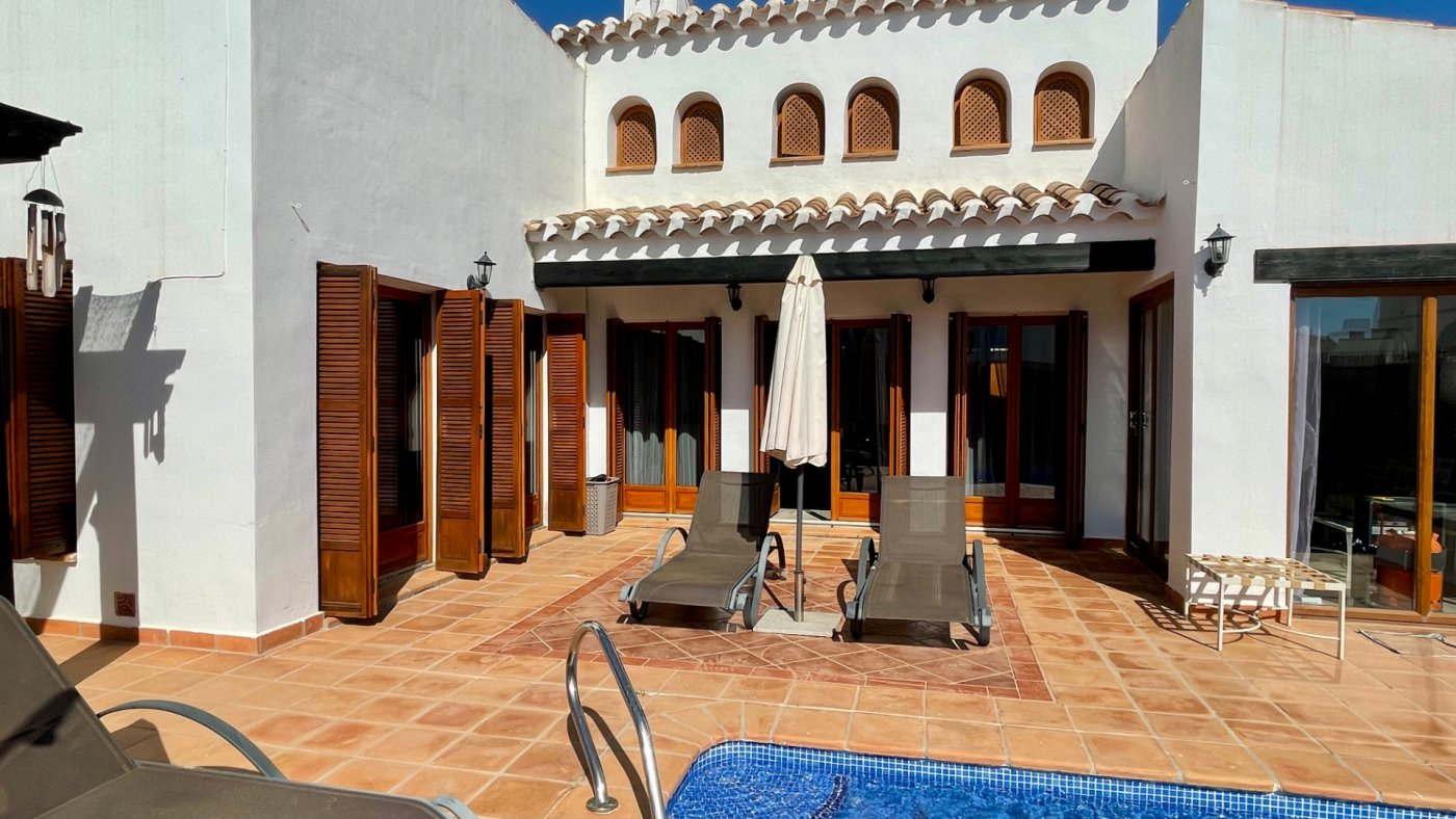 Gallery Image 32 of Nice sunny south facing 3 bed villa with private pool on El Valle Golf Resort