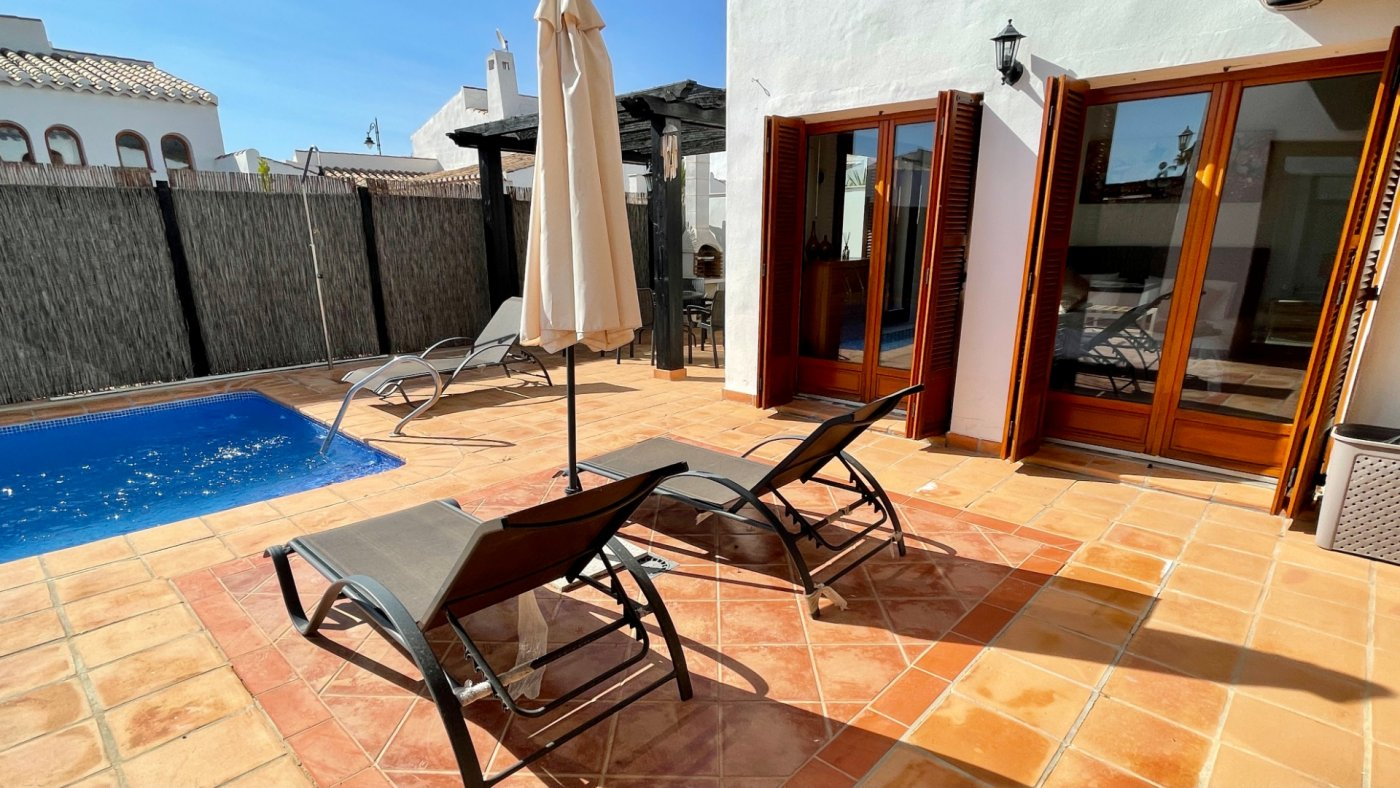 Gallery Image 33 of Nice sunny south facing 3 bed villa with private pool on El Valle Golf Resort
