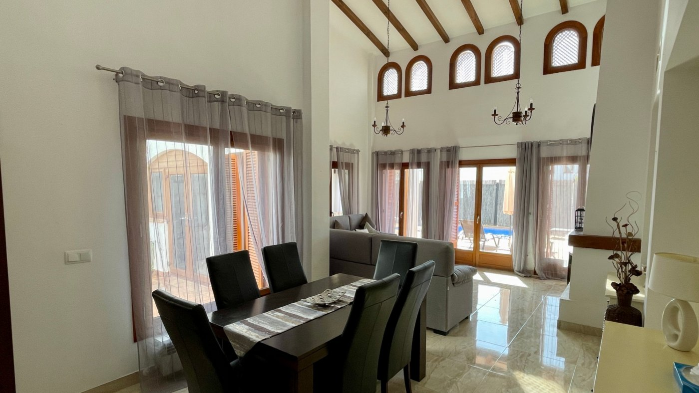 Gallery Image 3 of Nice sunny south facing 3 bed villa with private pool on El Valle Golf Resort
