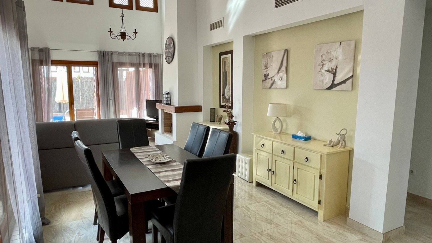 Gallery Image 4 of Nice sunny south facing 3 bed villa with private pool on El Valle Golf Resort