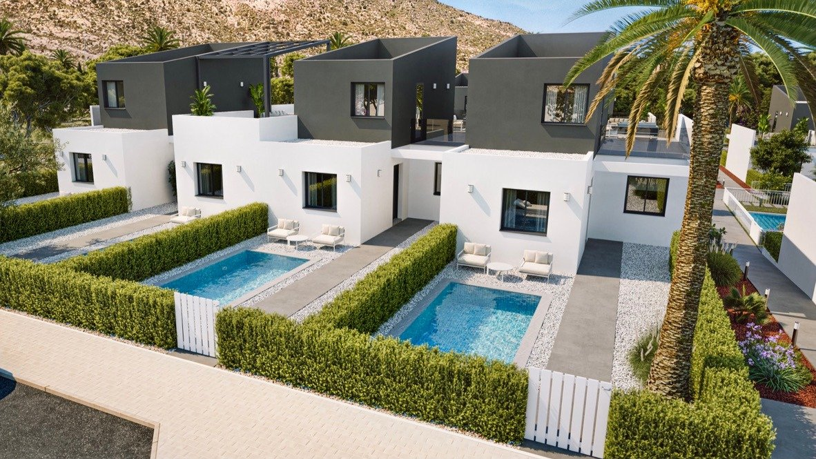 Gallery Image 10 of Lovely well designed Townhouse, on golf course, close to Murcia and the beaches.