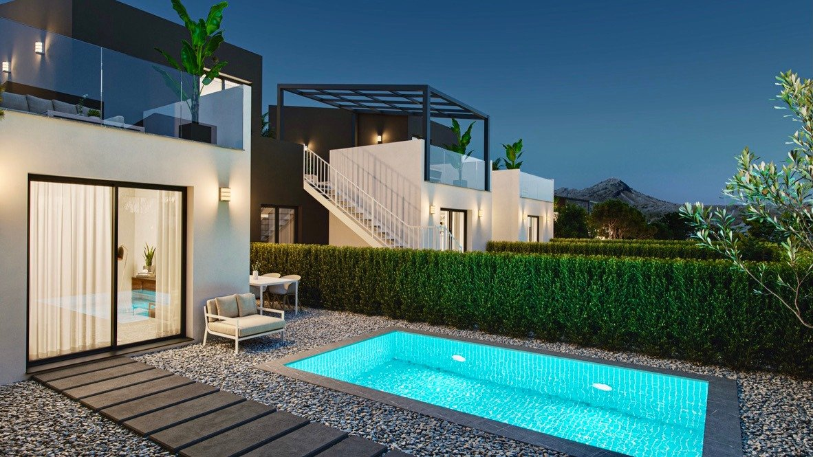 Gallery Image 13 of Lovely well designed Townhouse, on golf course, close to Murcia and the beaches.
