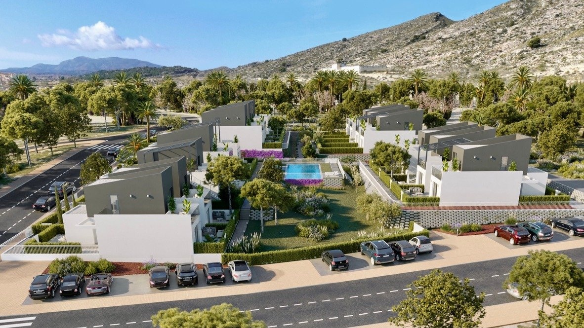 Gallery Image 7 of Lovely well designed Townhouse, on golf course, close to Murcia and the beaches.