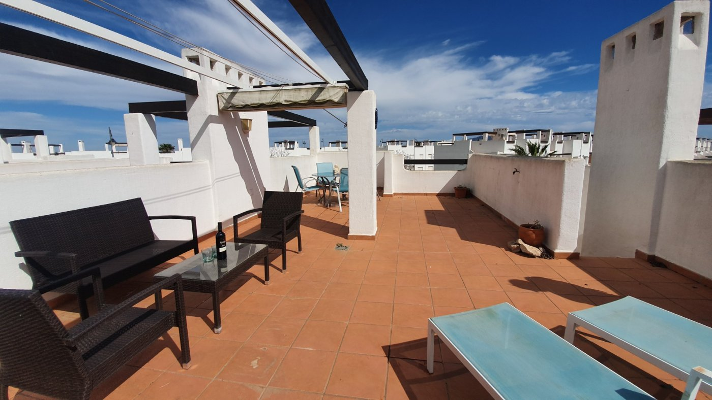 Gallery Image 18 of New South Facing 2 Bed Apartment with Roof Top Solarium and Communal Pool in Jardin 13, Condado