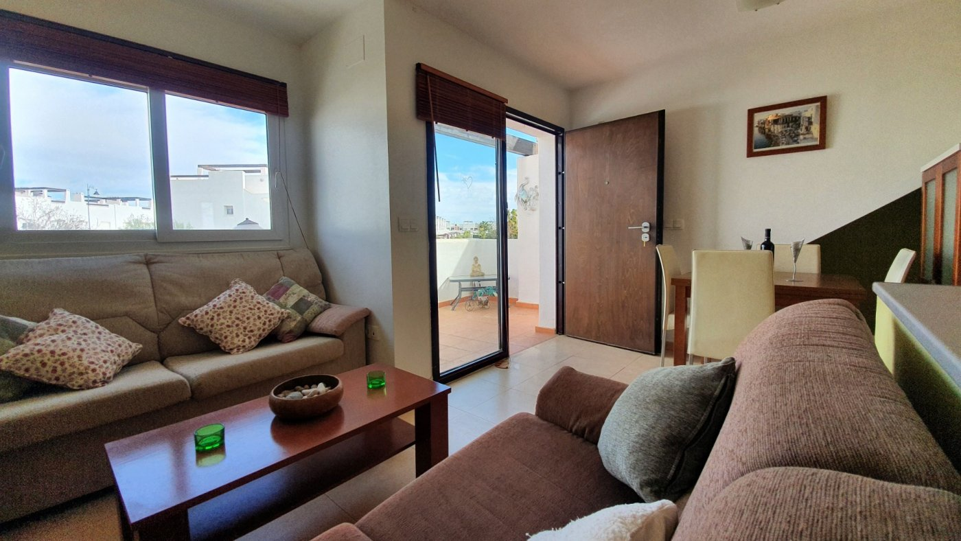 Gallery Image 1 of New South Facing 2 Bed Apartment with Roof Top Solarium and Communal Pool in Jardin 13, Condado