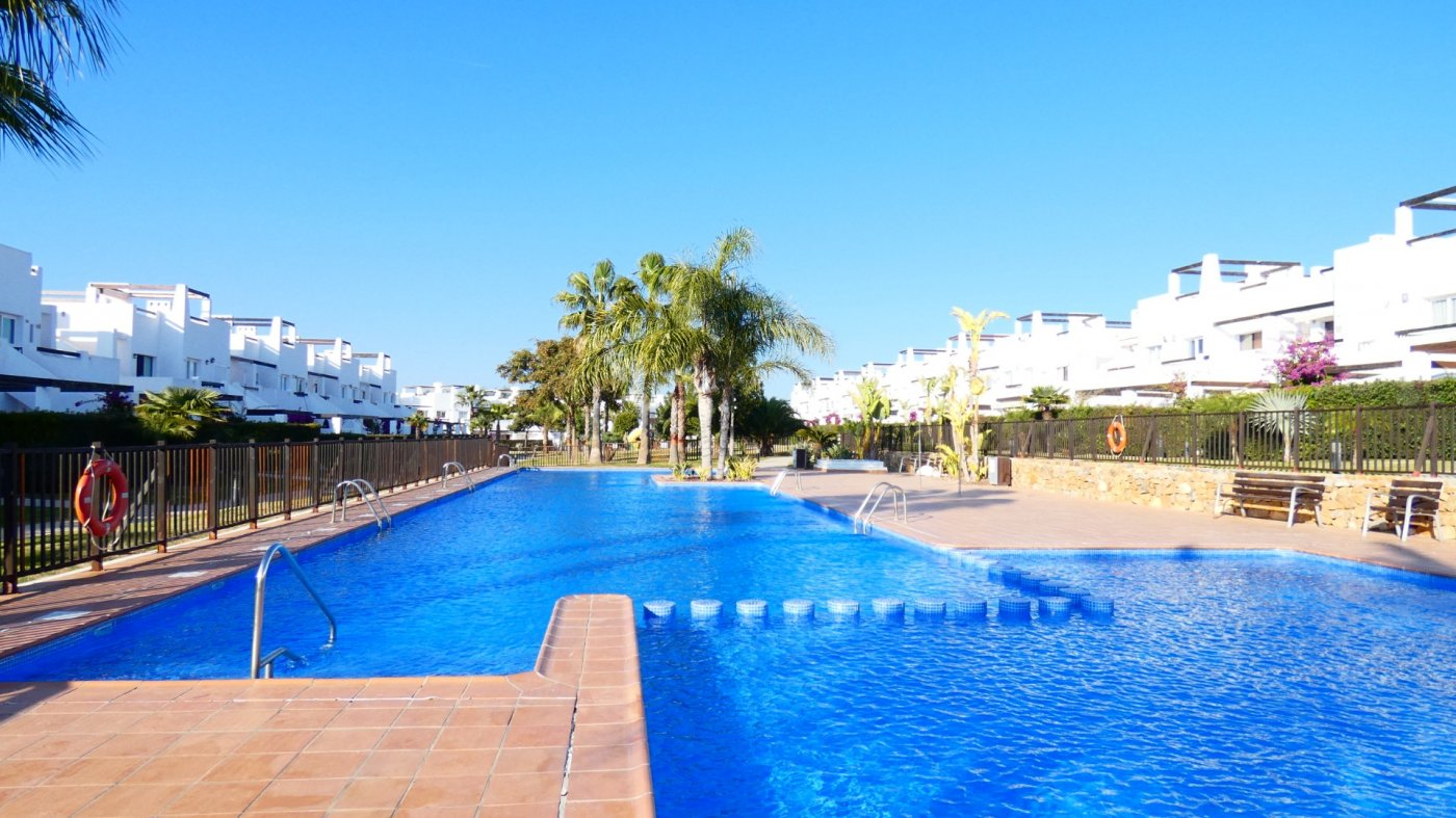 Gallery Image 28 of New South Facing 2 Bed Apartment with Roof Top Solarium and Communal Pool in Jardin 13, Condado