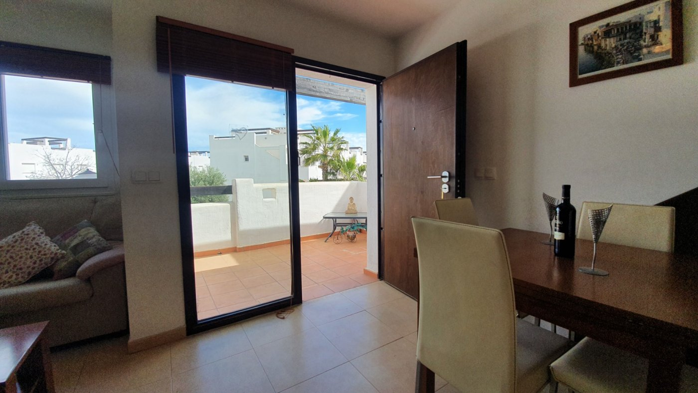 Gallery Image 4 of New South Facing 2 Bed Apartment with Roof Top Solarium and Communal Pool in Jardin 13, Condado