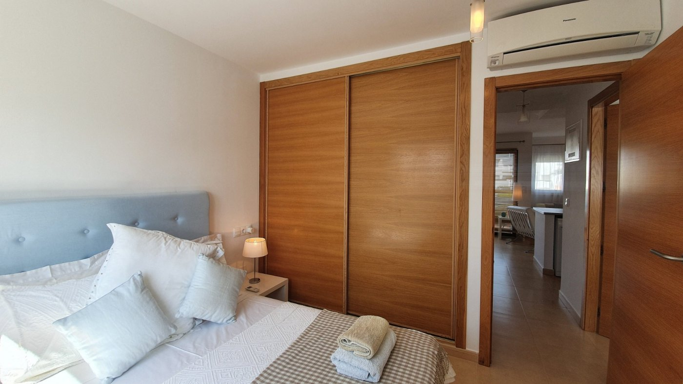 Gallery Image 10 of Immaculate 2 Bedroom Apartment with Pool Views and Roof Terrace in Jardin 9, Condado de Alhama