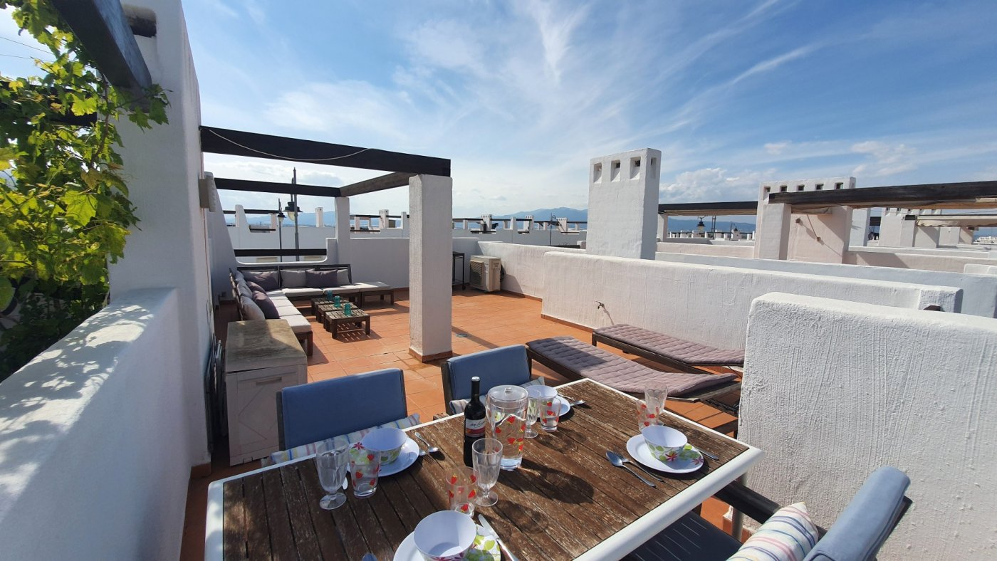 Gallery Image 19 of Immaculate 2 Bedroom Apartment with Pool Views and Roof Terrace in Jardin 9, Condado de Alhama