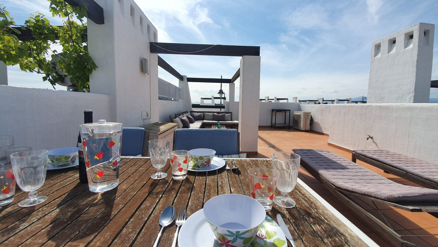 Gallery Image 1 of Immaculate 2 Bedroom Apartment with Pool Views and Roof Terrace in Jardin 9, Condado de Alhama