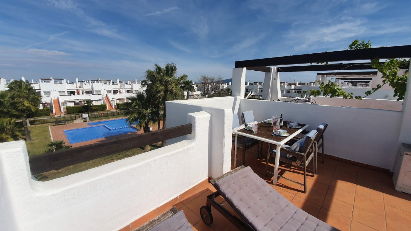 Gallery Image 20 of Immaculate 2 Bedroom Apartment with Pool Views and Roof Terrace in Jardin 9, Condado de Alhama