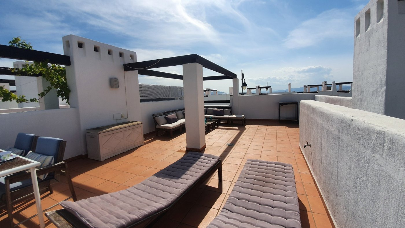 Gallery Image 23 of Immaculate 2 Bedroom Apartment with Pool Views and Roof Terrace in Jardin 9, Condado de Alhama