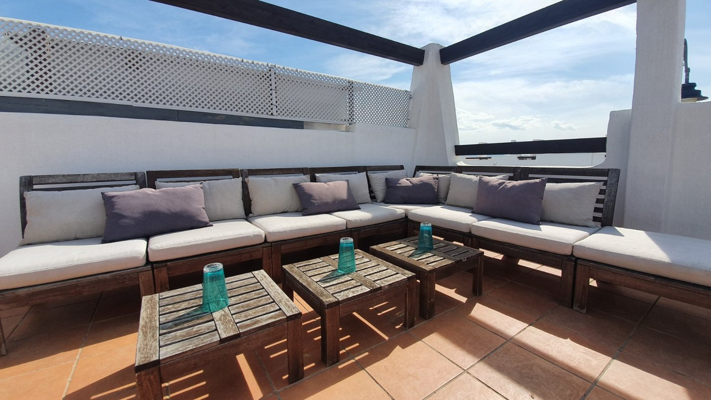 Gallery Image 25 of Immaculate 2 Bedroom Apartment with Pool Views and Roof Terrace in Jardin 9, Condado de Alhama