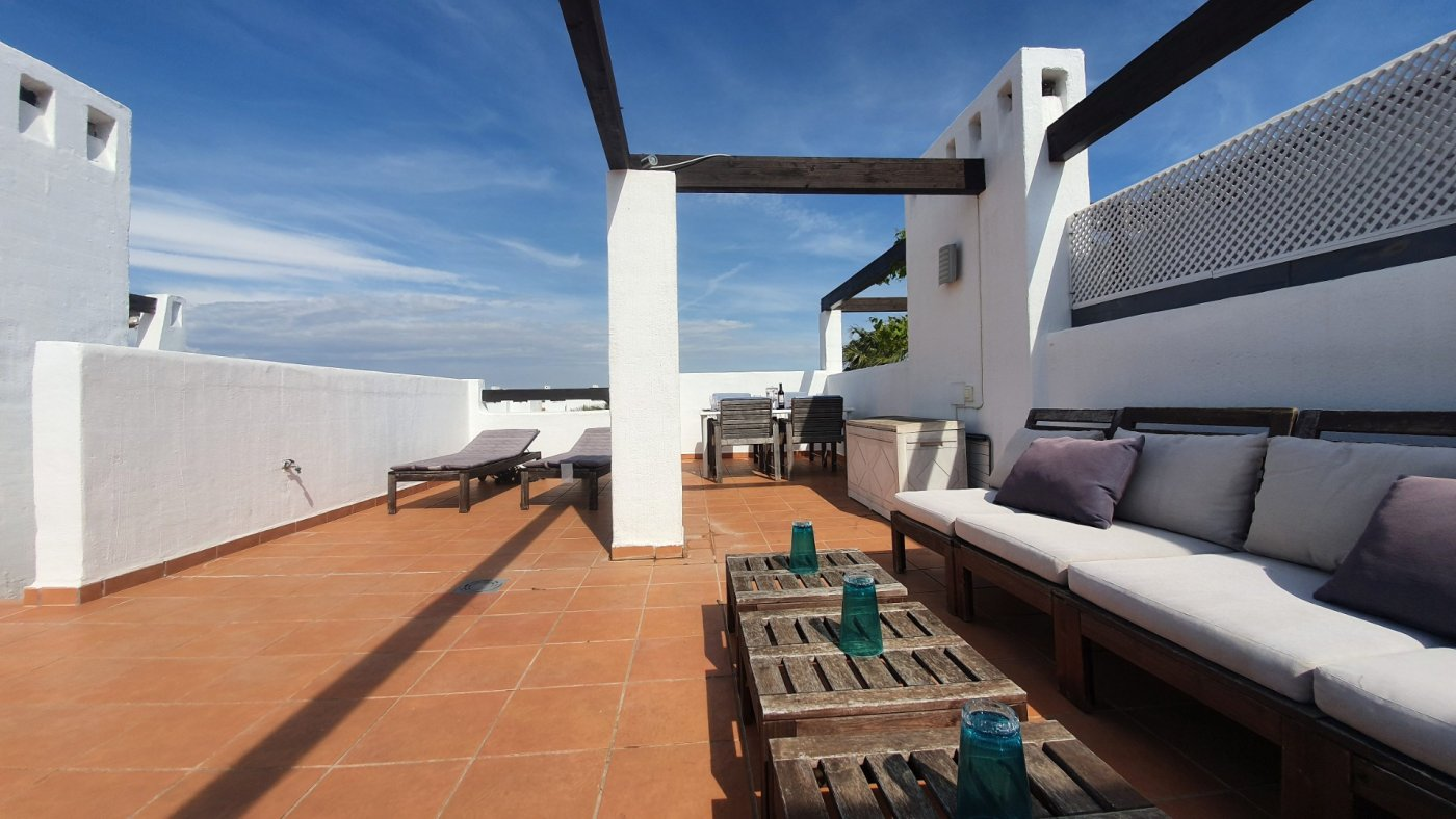 Gallery Image 26 of Immaculate 2 Bedroom Apartment with Pool Views and Roof Terrace in Jardin 9, Condado de Alhama