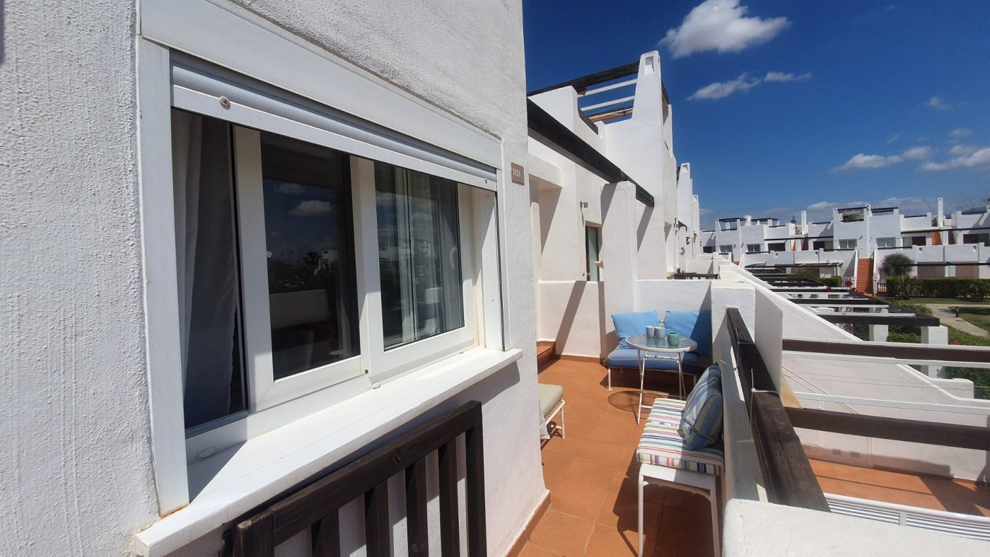 Gallery Image 29 of Immaculate 2 Bedroom Apartment with Pool Views and Roof Terrace in Jardin 9, Condado de Alhama