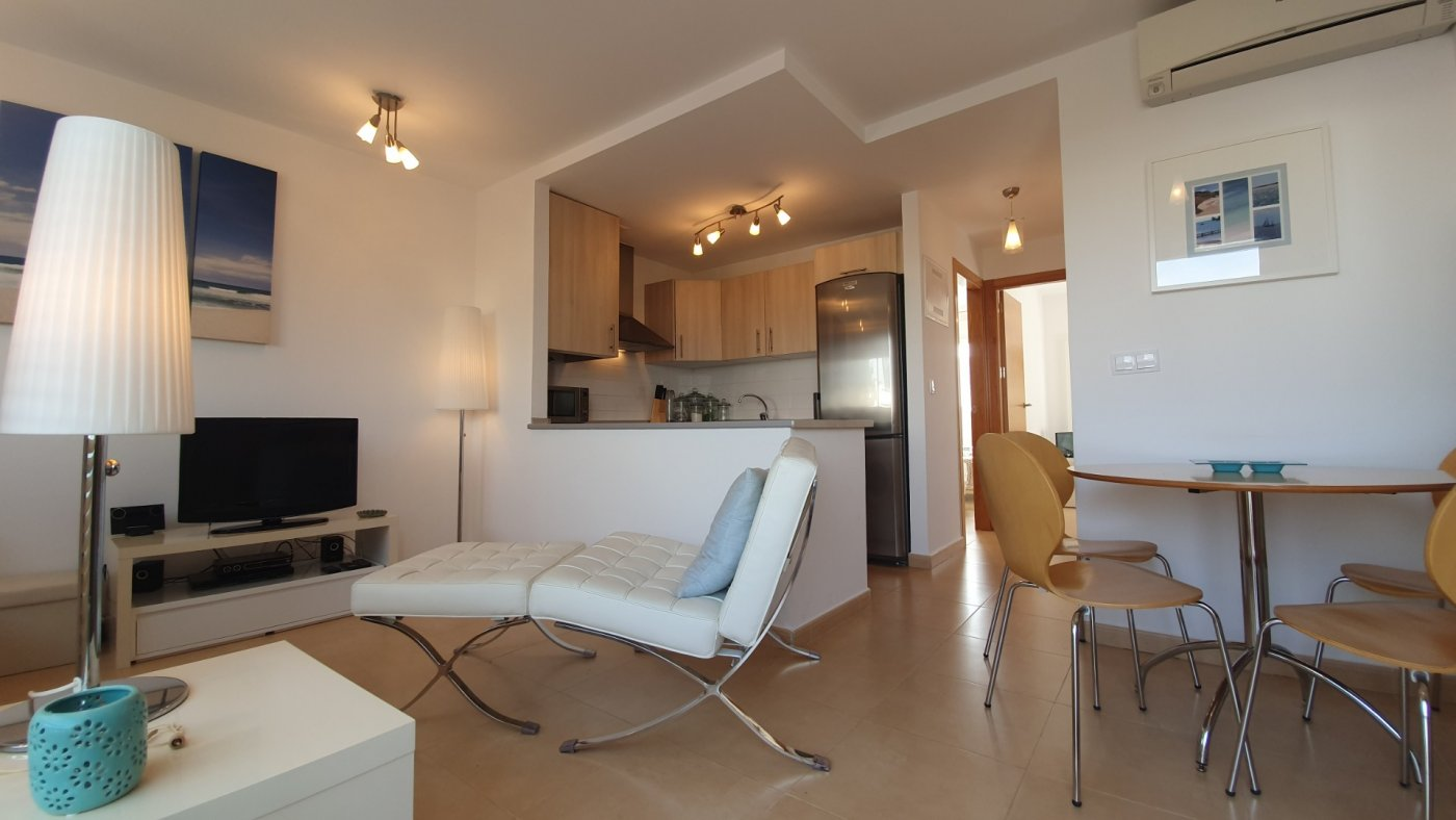 Gallery Image 3 of Immaculate 2 Bedroom Apartment with Pool Views and Roof Terrace in Jardin 9, Condado de Alhama
