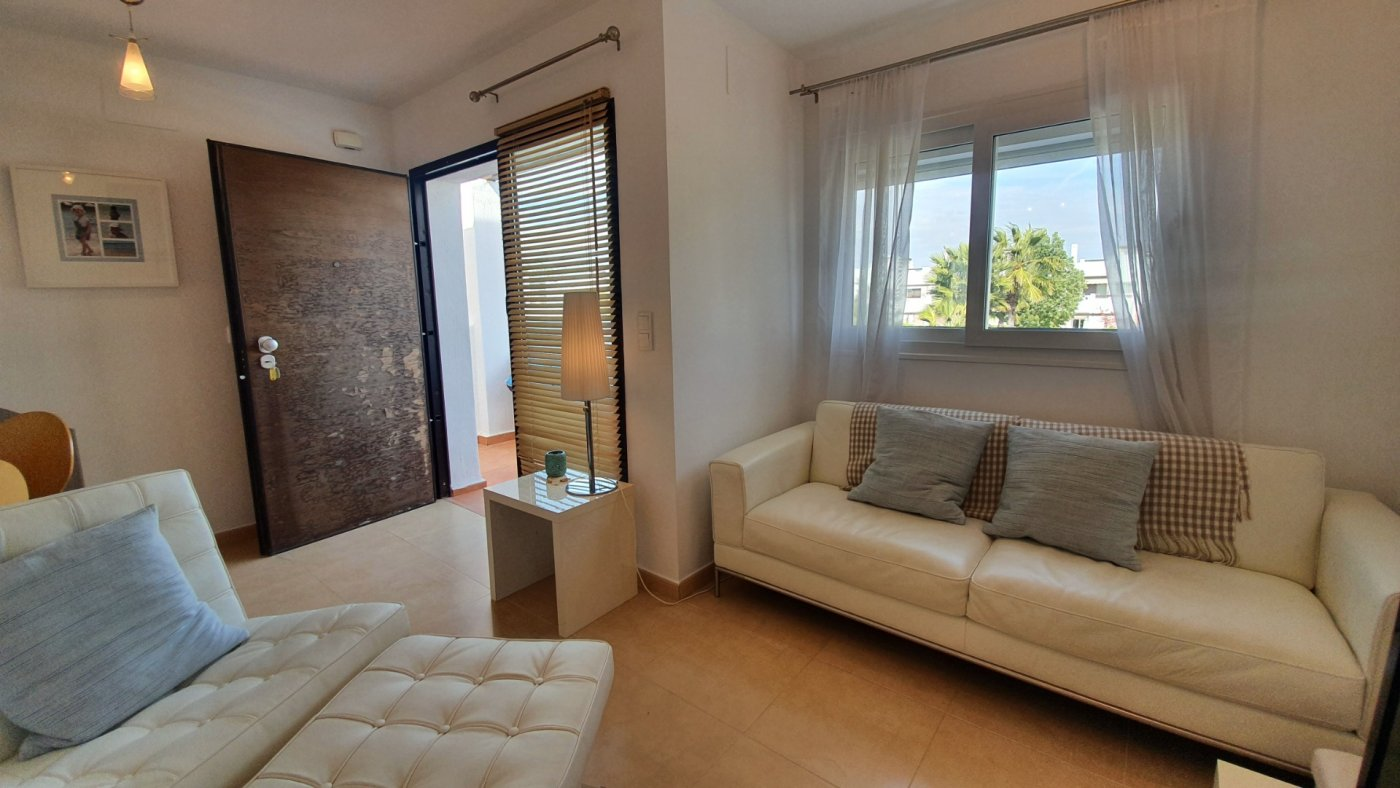 Gallery Image 4 of Immaculate 2 Bedroom Apartment with Pool Views and Roof Terrace in Jardin 9, Condado de Alhama