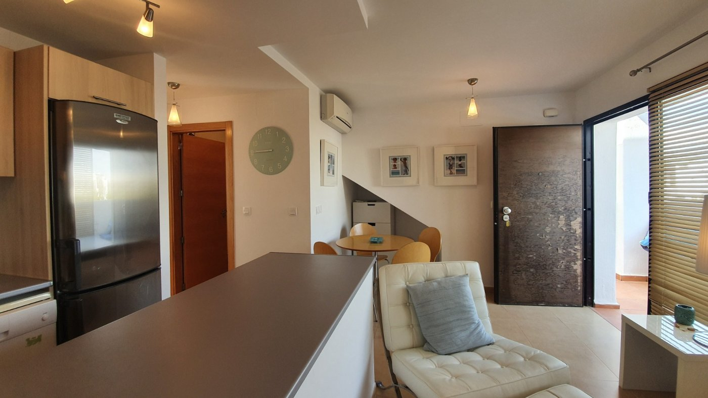 Gallery Image 5 of Immaculate 2 Bedroom Apartment with Pool Views and Roof Terrace in Jardin 9, Condado de Alhama