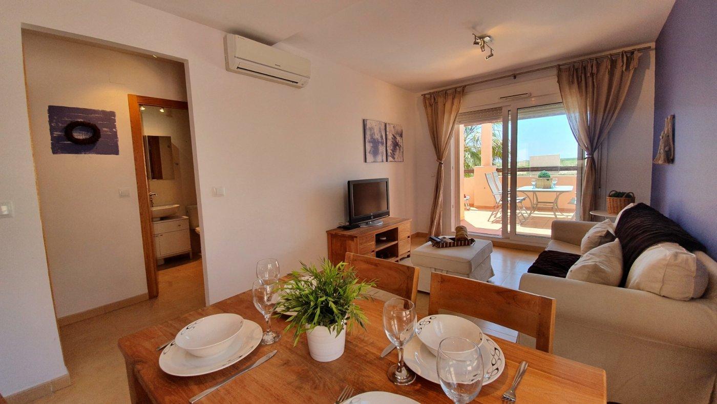 Image 1 Apartment ref 3528 for sale in Condado De Alhama Spain - Quality Homes Costa Cálida