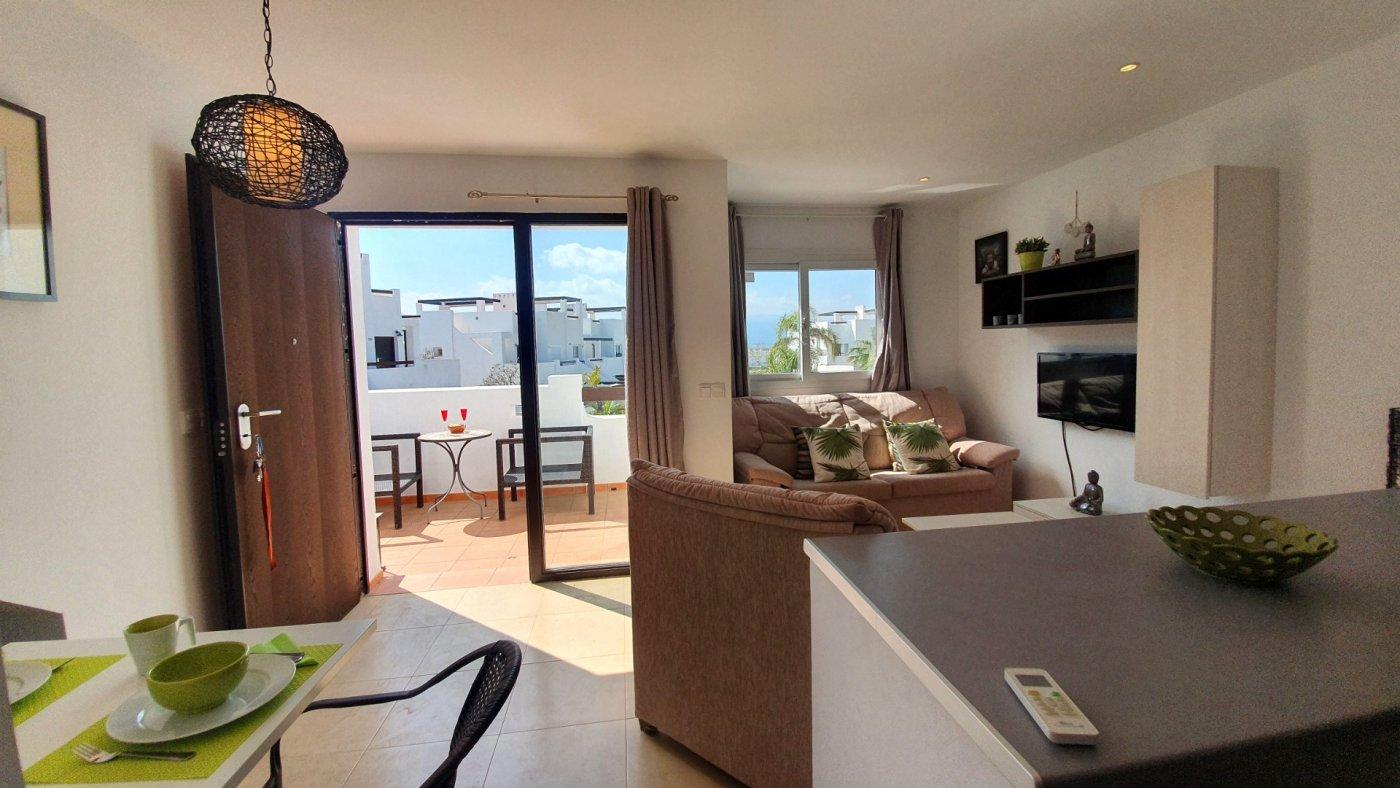 Imagen de la galería 1 of Espectacular atico de 2 dormitorios con terraza y gran solarium y piscina comunitaria en Naranjos 6
