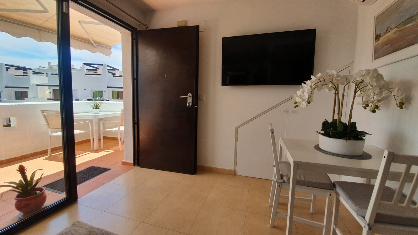 Gallery Image 1 of SOLD!!! South Facing 2 Bed Apartment, Corner Plot, with Roof Terrace and Centrally Located in Naranjos 3