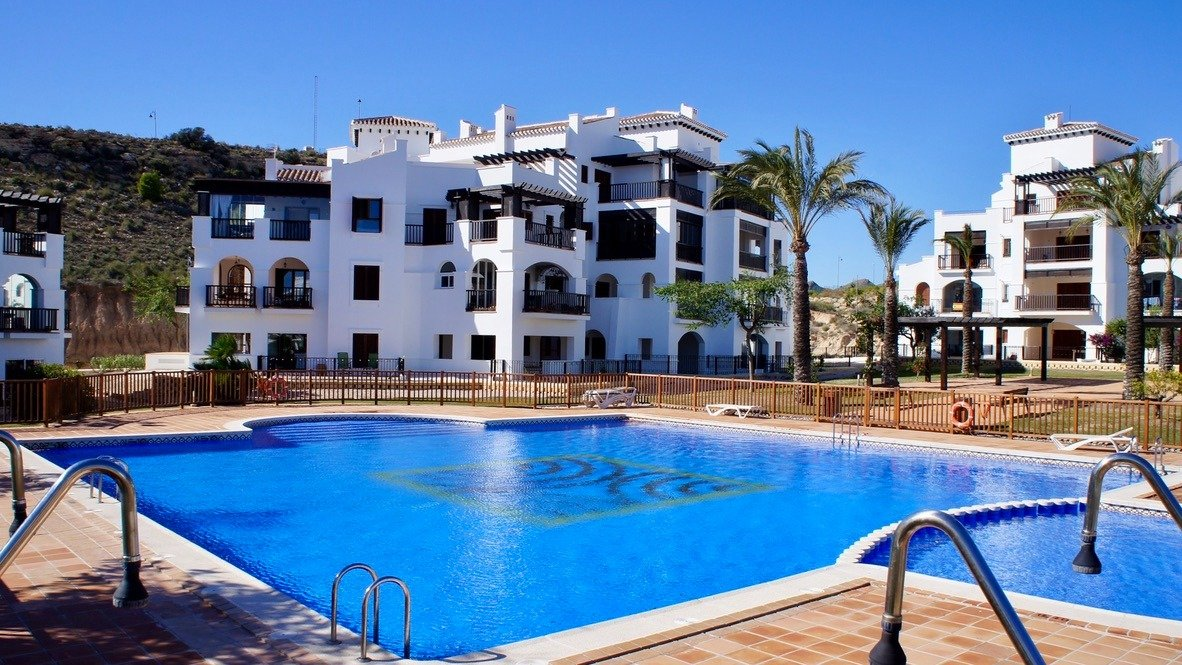 Gallery Image 1 of Garden apartment, 40 m2 big covered terrace, 2 bed, 2 bath, on El Valle Golf