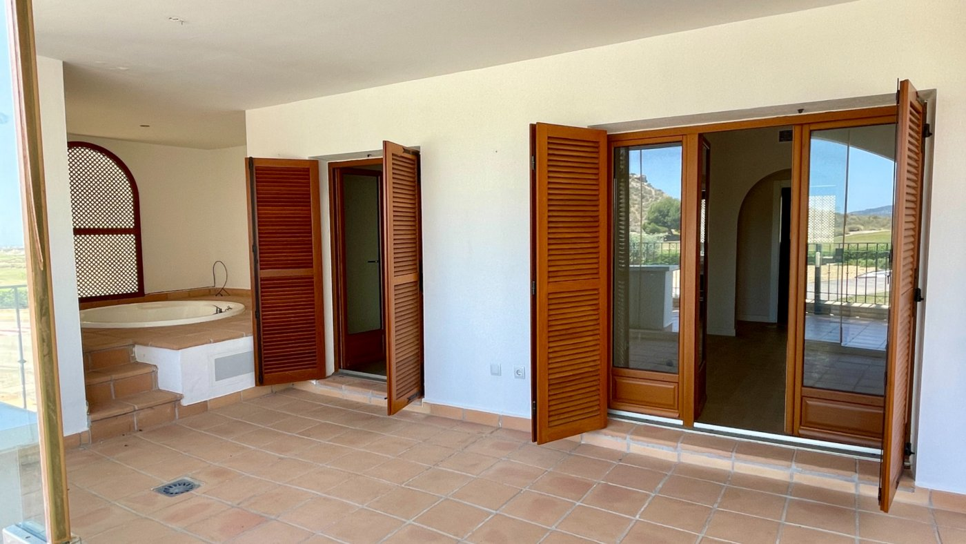 Gallery Image 2 of Garden apartment, 40 m2 big covered terrace, 2 bed, 2 bath, on El Valle Golf