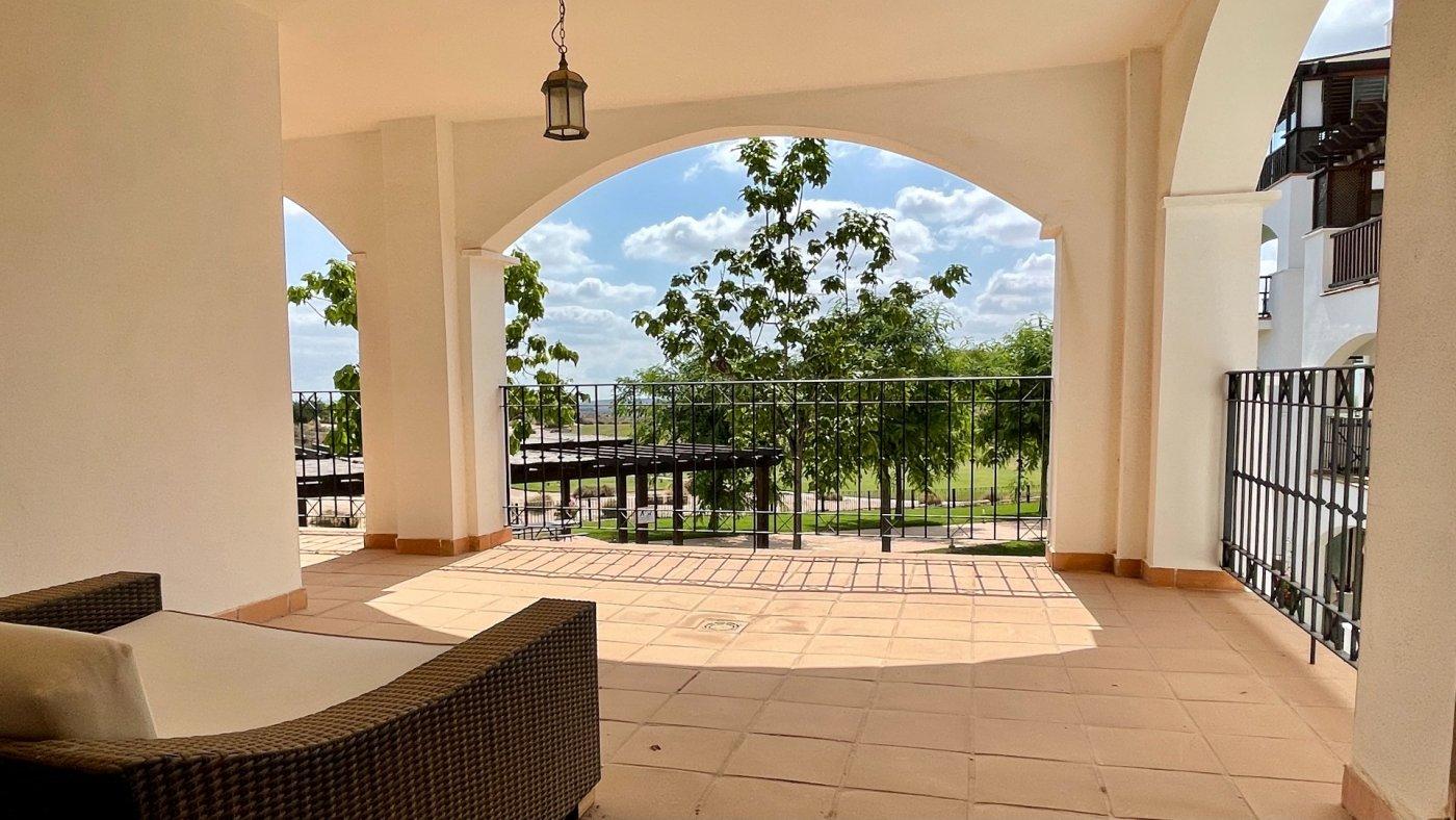 Galleribillede 20 of Kæmpe overdækket terrasse - 3 vær med 2 bad, golf udsigt på El Valle Golf Resort