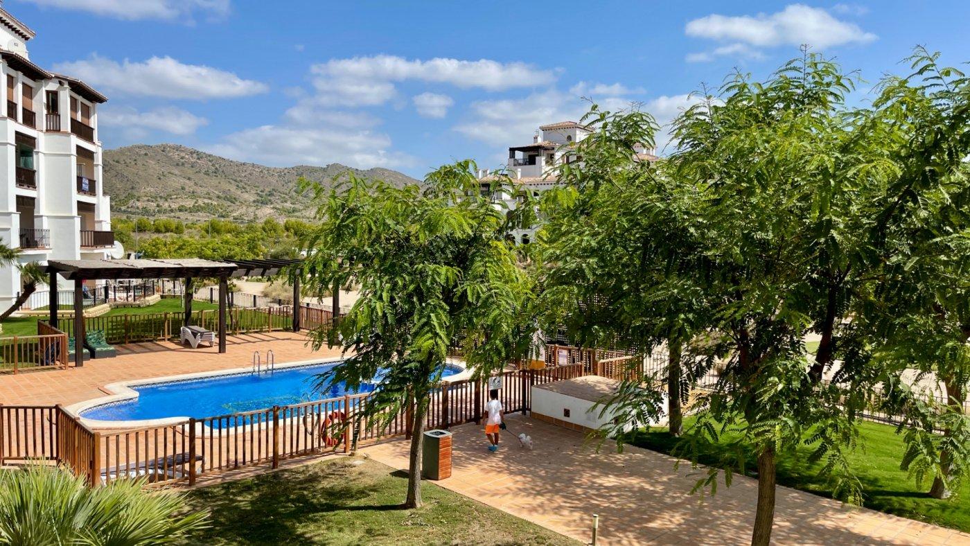 Galleribillede 1 of Stor 38 m2 terrasse, udsigt til golfbanen - 3 vær med 2 bad,  El Valle Golf Resort
