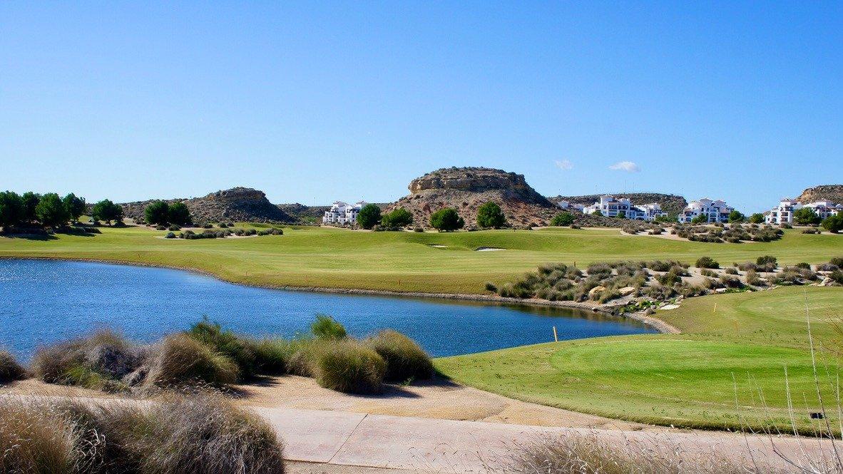Galleribillede 23 of Stor 38 m2 terrasse, udsigt til golfbanen - 3 vær med 2 bad,  El Valle Golf Resort