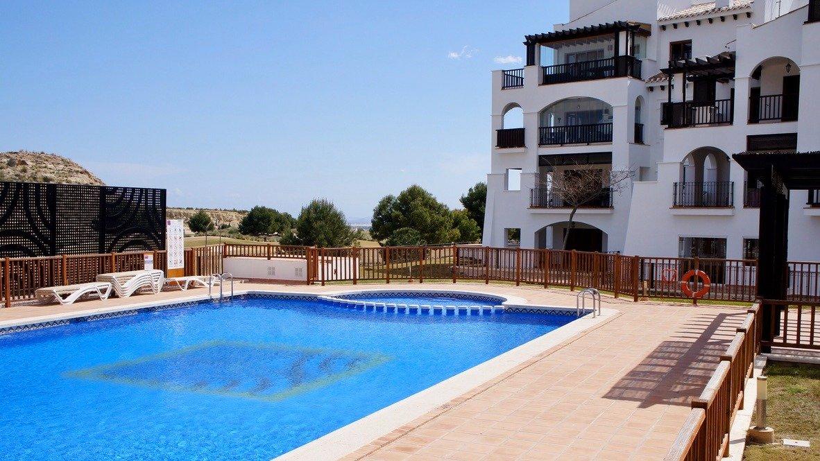 Galleribillede 24 of Stor 38 m2 terrasse, udsigt til golfbanen - 3 vær med 2 bad,  El Valle Golf Resort