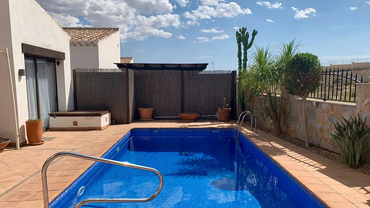 Gallery Image 20 of Nice south west facing 3 bed corner villa with private pool on El Valle Golf Resort