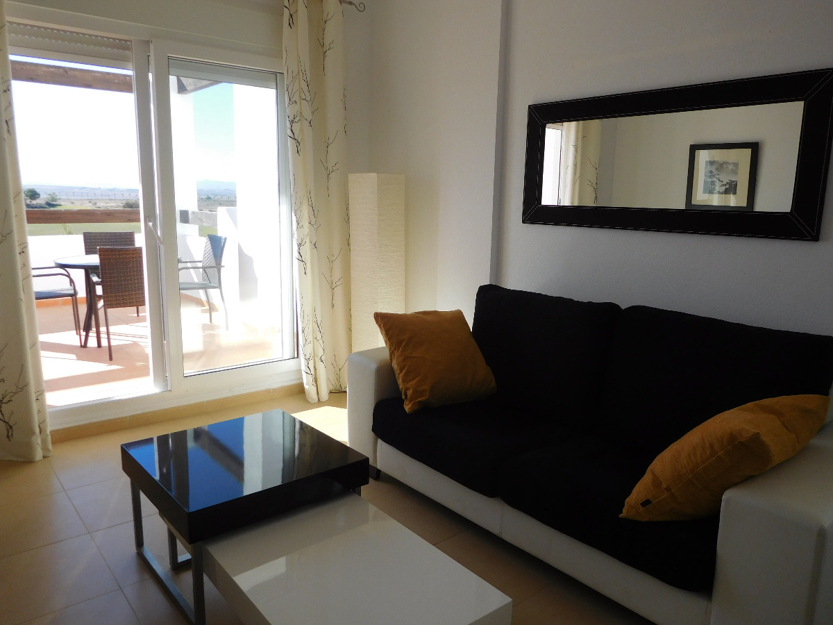 Flat ref 3265-02689 for rent in Condado De Alhama Spain - Quality Homes Costa Cálida